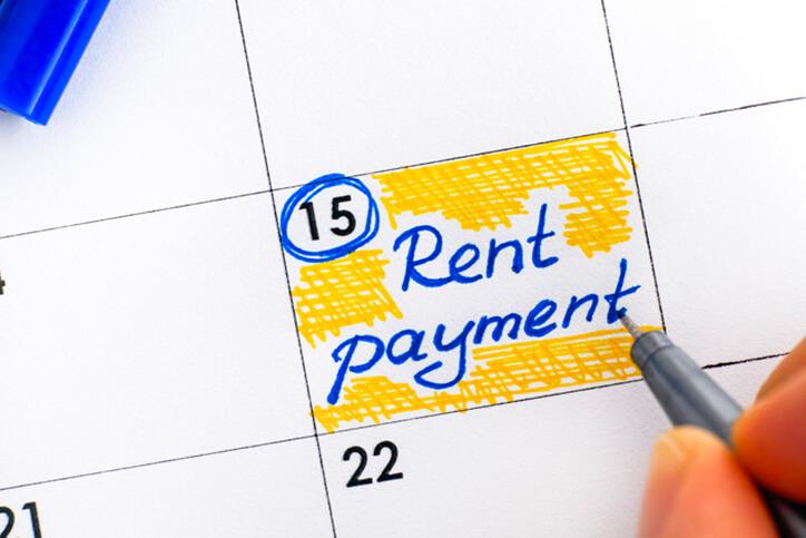 writing rent payment reminder in calendar - neurodiverse financial planning services farmington ct