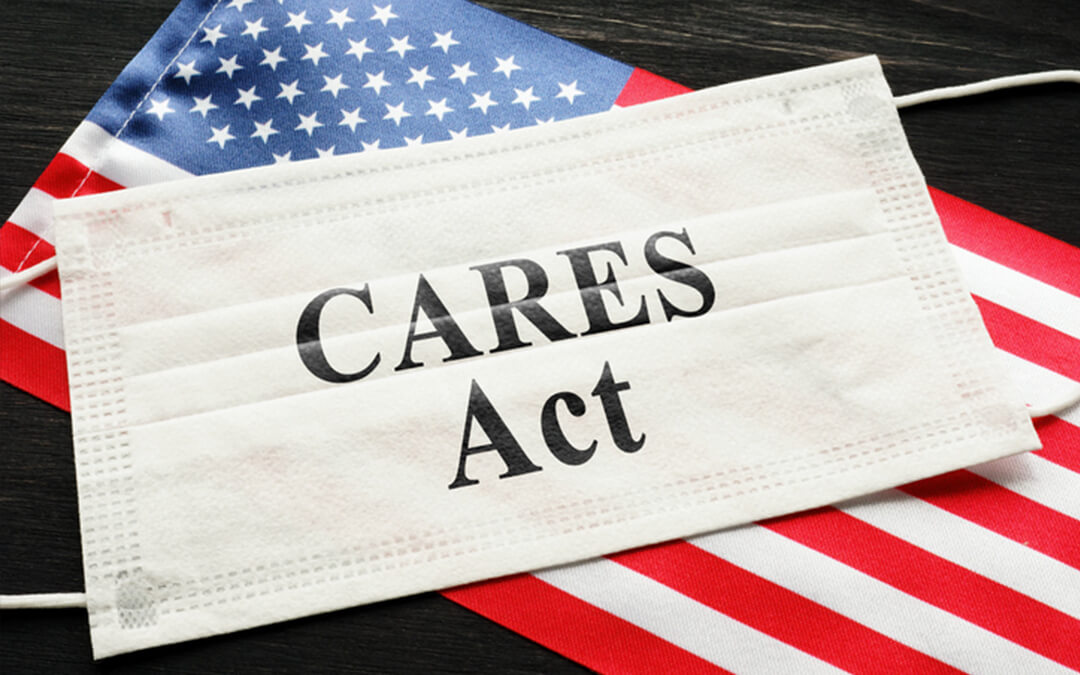 2020 cares act sign on flag - what does the 2020 cares act mean for those with special needs