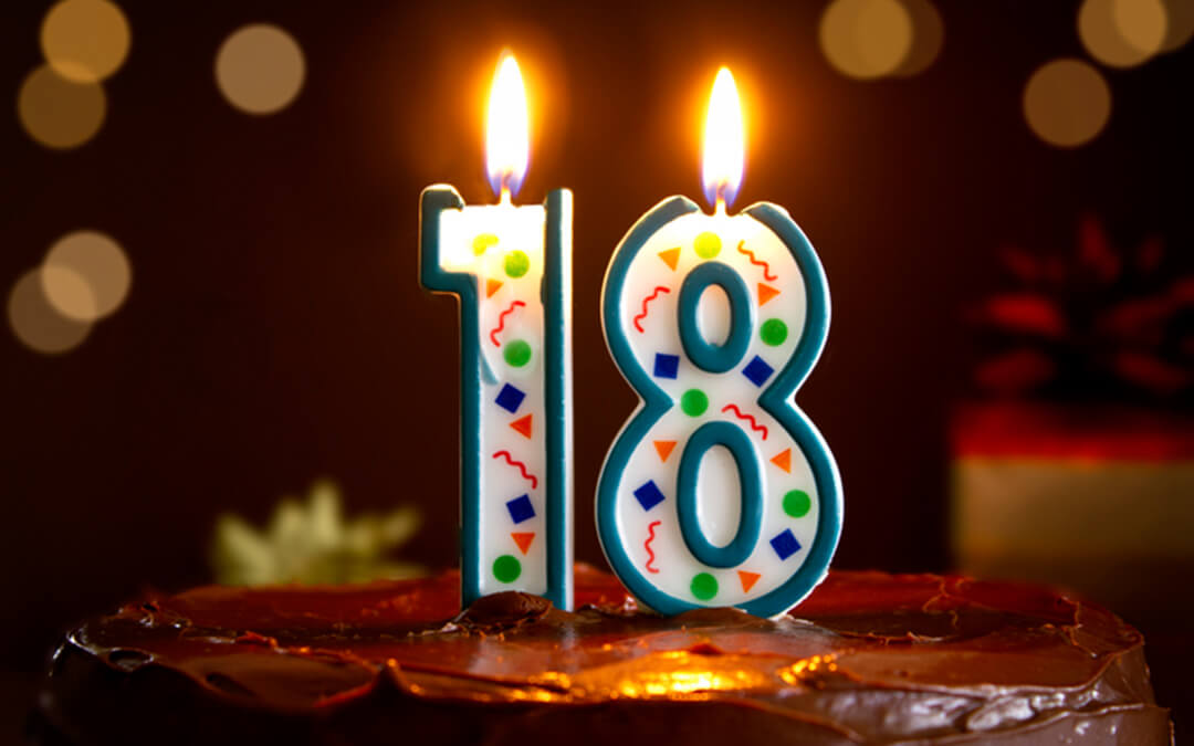 birthday candle eighteenth  - primer on what to do when child with disabilities turns eighteen