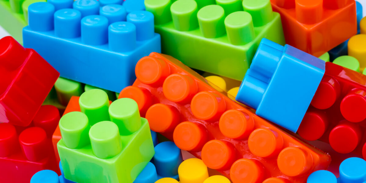 colorful lego pieces - embracing your interests as a special needs person financial planning