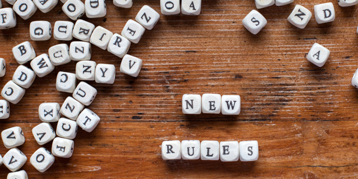 scrabble tiles spell new rules - 2020 retirement law changes for special needs financial planning