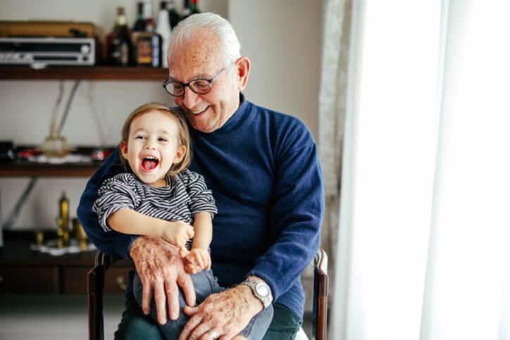 grandparent holding grandchild - neurodiverse special needsfinancial planning services farmington ct