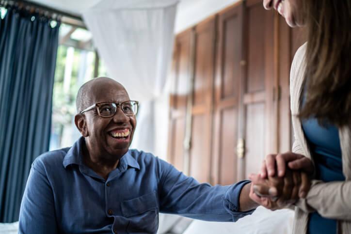 home caregiver with patient - neurodiverse financial planning services farmington ct