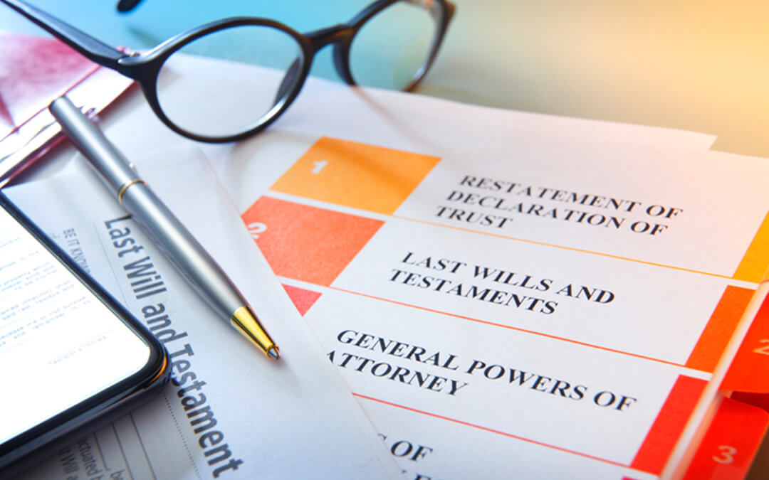 financial planning documents on desk - special needs certified financial trust planning services